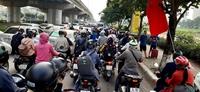 Nhiều tuyến đường cửa ngõ Thủ đô kẹt cứng các phương tiện ngày đầu kỳ nghỉ Lễ 30 4