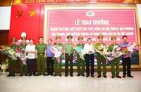 Công an tỉnh Nghệ An được thưởng nóng sau chiến công khuất phục sát thủ