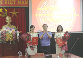 VKSND tỉnh Nghệ An tổ chức Lễ trao quyết định về công tác tổ chức cán bộ