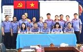 Cụm thi đua số 1 VKSND TP Hồ Chí Minh ký kết giao ước thi đua