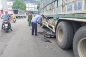 Kiểm sát khám nghiệm hiện trường vụ nam sinh lớp 12 tử vong sau khi va chạm với xe tải