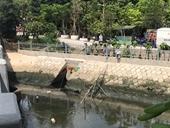 Phát hiện thi thể người phụ nữ dưới kênh Ba Thôn