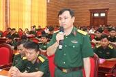Viện Kiểm sát quân sự Quân khu 4 phát huy truyền thống cống hiến tài năng xứng danh Bộ đội Cụ Hồ