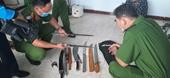 Bắt quả tang hai đối tượng tàng trữ ma túy, thủ nhiều đao kiếm