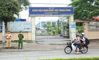 Thông báo khẩn tìm người từng đến ổ dịch BV Bệnh Nhiệt đới Trung ương, cơ sở Kim Chung