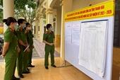 Hơn 700 cử tri đặc biệt ở Trại tạm giam Công an tỉnh Thanh Hoá