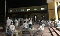 Bắc Ninh xét nghiệm COVID-19 xuyên đêm cho cả xã hơn 15 000 dân