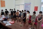 Nhóm thanh niên tổ chức tiệc ma túy giữa lúc dịch diễn biến phức tạp