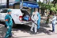 Một nữ nhân viên dương tính với COVID-19, khẩn cấp phong tỏa khu phố ở Đắk Lắk
