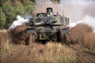 Anh chi khủng nâng cấp xe tăng Challenger 2