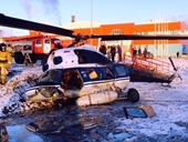 Trực thăng Mi-2 rơi ở Viễn Đông Nga