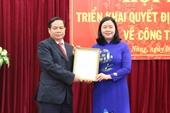 Bộ Chính trị chỉ định Phó Bí thư Tỉnh ủy Đắk Nông