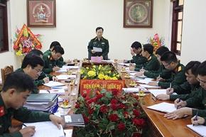 Hoàn thành tốt nhiệm vụ mà Đảng, Nhà nước và Quân đội tin tưởng giao phó
