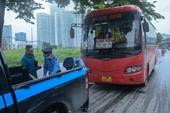 Hà Nội Mạnh tay xử phạt đối với xe khách chạy chậm, chạy lòng vòng bắt khách
