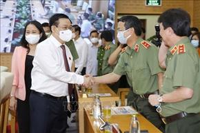 Bảo đảm tuyệt đối an ninh, an toàn Ngày bầu cử - ngày hội của toàn dân