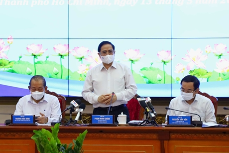 TP HCM kiến nghị nhiều vấn đề nóng với Thủ tướng Chính phủ