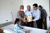 Vinamilk hỗ trợ phẫu thuật tim cho trẻ em khó khăn