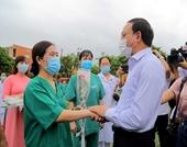 200 cán bộ, y, bác sĩ Quảng Ninh lên đường hỗ trợ tỉnh Bắc Giang phòng, chống dịch