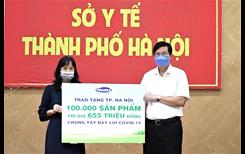 Vinamilk đến với các khu cách ly ở Hà Nội, Hà Nam, Bắc Ninh