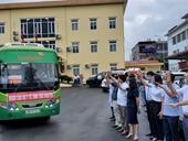 Đoàn cán bộ Y tế tỉnh Thái Nguyên lên đường chi viện cho Bắc Giang