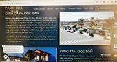 Công ty Khải Tín bị phạt vì quảng cáo dự án bất động sản sai sự thật