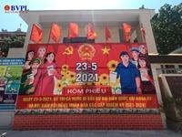 Đà Nẵng diễn tập bầu cử, chia thời gian cho cử tri đi bỏ phiếu