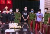 Đường dây 10kg ma tuý đá ở Thanh Hoá Khám xét nhà, thu 2 khẩu súng, 1 quả lựu đạn