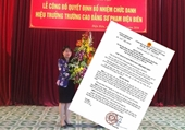 Đình chỉ công tác Hiệu trưởng trường CĐSP Điện Biên vì lơ là chống dịch