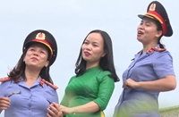 Nữ Viện trưởng VKSND huyện sáng tác ca khúc tuyên truyền bầu cử