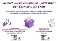 Người có hành vi vi phạm pháp luật về bầu cử có thể bị phạt tù