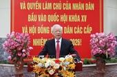 Tổng Bí thư Nguyễn Phú Trọng Đất nước ta sẽ bước vào một giai đoạn phát triển mới, ngày càng tốt đẹp hơn