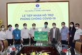 Nutifood và Ông Bầu trao tặng các sản phẩm dinh dưỡng trị giá 2,6 tỉ đồng cho y bác sĩ tuyến đầu và bệnh nhân mắc COVID-19