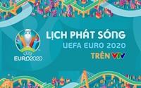 Lịch phát sóng dự kiến UEFA EURO 2020 trên các kênh sóng của VTV