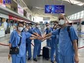 Y, bác sỹ Đà Nẵng lên đường chi viện tỉnh Bắc Giang