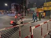 TP HCM Quận Gò Vấp trắng đêm lập chốt kiểm soát phương tiện giao thông thực hiện giãn cách xã hội