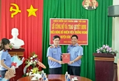 VKSND tỉnh Đắk Nông Trao quyết định điều động, bổ nhiệm lãnh đạo cấp huyện và cấp phòng