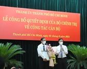 Đồng chí Phan Văn Mãi giữ chức Phó Bí thư Thường trực Thành ủy TP Hồ Chí Minh