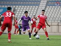 ĐT Việt Nam và ĐT Jordan bất phân thắng bại trong trận giao hữu tại UAE