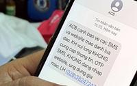 """Khuyến cáo tin nhắn """"ăn cắp"""" tiền trong tài khoản Ngân hàng"""