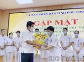 Phú Thọ đưa thêm 84 bác sĩ và nhân viên y tế chia lửa  với Bắc Giang