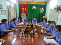 VKSND huyện Tam Nông thực hiện tốt công tác phòng, chống tham nhũng