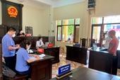 Bắc Giang Xét xử vụ án Chống người thi hành công vụ tại thời điểm dịch COVID-19 diễn biến phức tạp