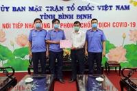 Ngành KSND tỉnh Bình Định chung tay hỗ trợ phòng, chống dịch COVID -19