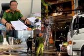 Công an tỉnh Quảng Ngãi nói gì khi dư luận cho rằng lực lượng chữa cháy thiếu chuyên nghiệp