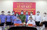 Ngành KSND và TAND tỉnh Phú Yên ký quy chế phối hợp