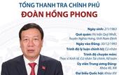 Ông Đoàn Hồng Phong giữ chức Bí thư Đảng ủy Thanh tra Chính phủ