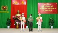 Trưởng Công an cửa khẩu CHK quốc tế Tân Sơn Nhất, giữ chức Phó Giám đốc Công an tỉnh Bình Thuận
