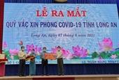 Trần Anh Group ủng hộ 5 tỉ đồng vào Qũy Vắc xin phòng COVID-19 tỉnh Long An