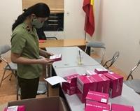 Thu giữ 400 hộp dụng cụ xét nghiệm COVID-19 không hóa đơn, chứng từ
