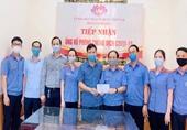 VKSND huyện Nghi Lộc quyên góp, ủng hộ Quỹ vắc xin phòng chống COVID-19